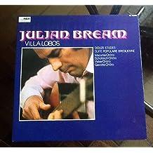 JULIAN BREAM VILLA-LOBOS THE TWELVE ETUDES FOR GUITAR