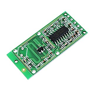 Ils - 5 Stück RCWL-0516 RCWL 0516 Mikrowellen-Radar-Sensor Menschliches Sensorgehäuse Sensor-Modul Induktions-Switch-Modul Ausgabe 3,3V