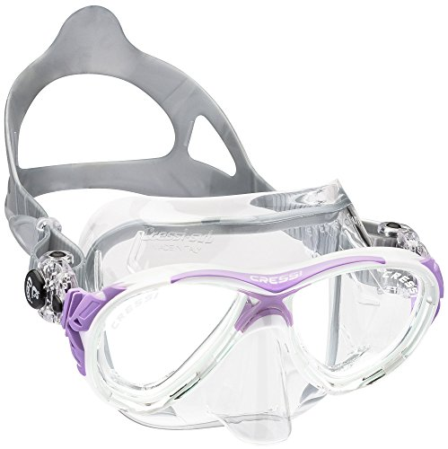 cressi-eyes-evolution-crystal-gafas-de-buceo-transparente-clear-lilla-tallamedium