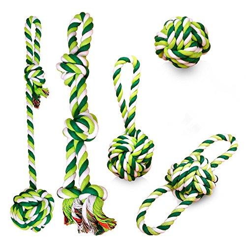 Haosens Kauspielzeug für Haustier Hunde Seil Spielzeug… | 00766330502026