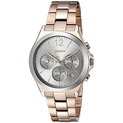 DKNY Damas Cronógrafo Analógico negocio Cuarzo: Batería Reloj NY2453