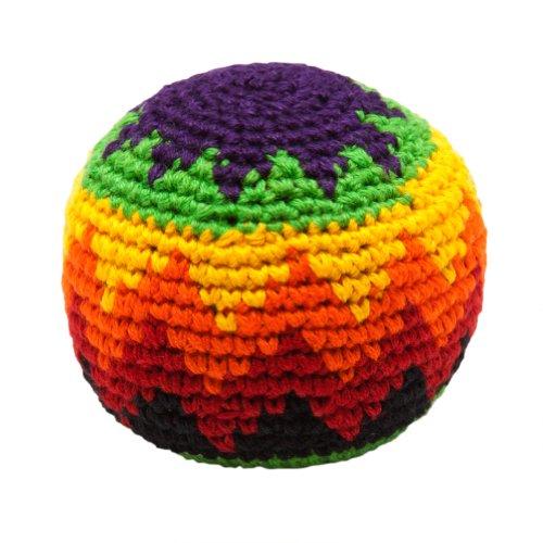 hacky-sack-tricote-coup-de-pied-balles-couleurs-assorties