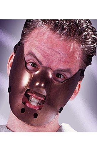 Hannibal Restraint Mask Fancy Dress Halloween Psycho Costume