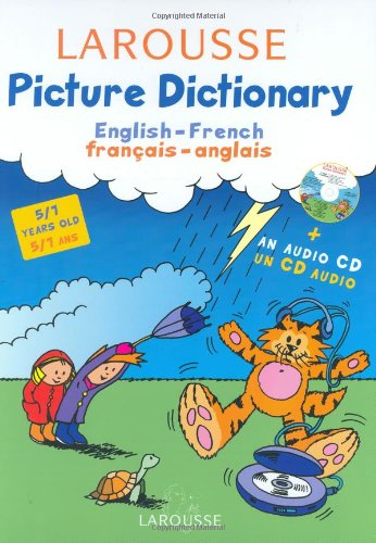 Larousse Picture Dictionary: English-French/French-English por Natacha Diaz