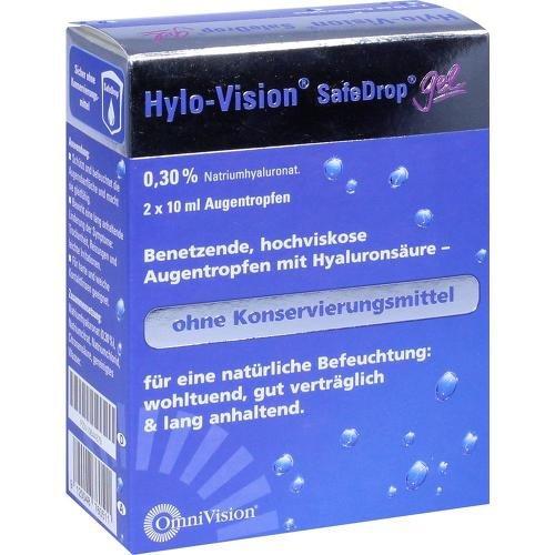 Hylo-Vision SafeDrop Gel, 2x10 ml Lösung