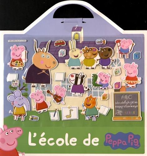 lcole-de-peppa-pig-24-stickers-repositionnables-et-1-grand-dcor