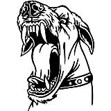 Jasonding AdesivoGrandeCane DiSicurezza Di ProtezioneParete Poster In Auto Decalcomania Del Giro Moto Frigo Adesivi Per Cani Skateboard Accessori Auto 57 * 82 Cm