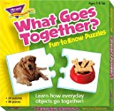 What Goes Together Puzzle by Trend Enterprises