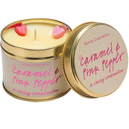 Preisvergleich Produktbild Bomb Cosmetics Caramel & Pink Pepper Tinned Candle