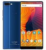 Vernee Mix 2 - 6,0 pouces FHD (18: 9 tous écran) Octa Core 2.5GHz 4 Go + 64 Go, Triple caméra (8MP + 5MP + 13MP), GPS, batterie 4200mAh - Bleu