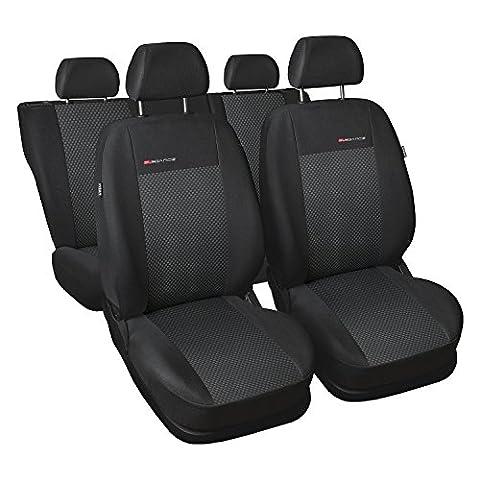 Seat Ibiza IV 6J ab 08 Sitzbezüge Sitzbezug Schonbezüge ELEGANCE 3