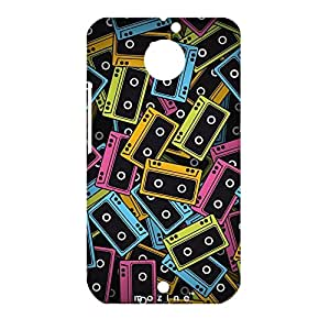Mozine Record Lover printed mobile back cover for Motorola Moto X 2nd gen