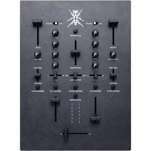 DJ-Tech TRX Table de mixage DJ, contrôleur Noir