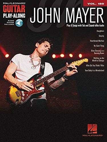 Guitar Play-Along Volume 189: John Mayer (Book/Online Audio) (Hal Leonard Guitar Play-Along)