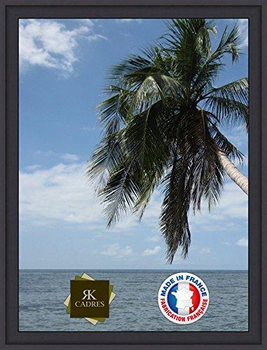 Caisse américaine 30x40/40 x 30 cadre Caisse Americaine Noir, 4 cm de largeur, Cadre en bois Cadre pour une toile seulement