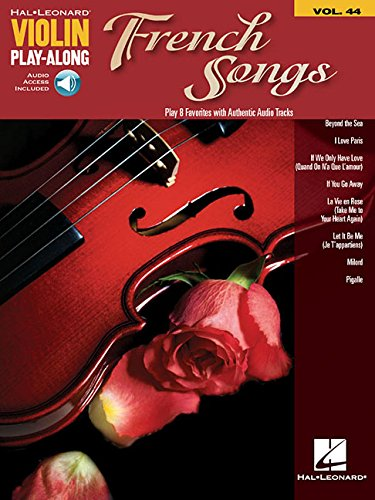 French Songs: Violin Play-Along Volume 44