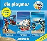 Die Playmos: Die große Piraten-Box.