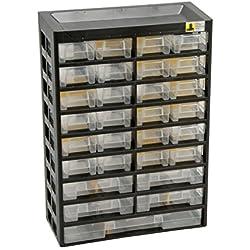 Allit Kleinteilmagazin, 1 Stück, schwarz, gelb, 458100