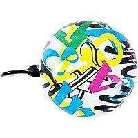 Alien Storehouse 6cm Colorido de los Niños de Bell Bell de la Bicicleta Accesorios MTB Gran Bell de la Bici
