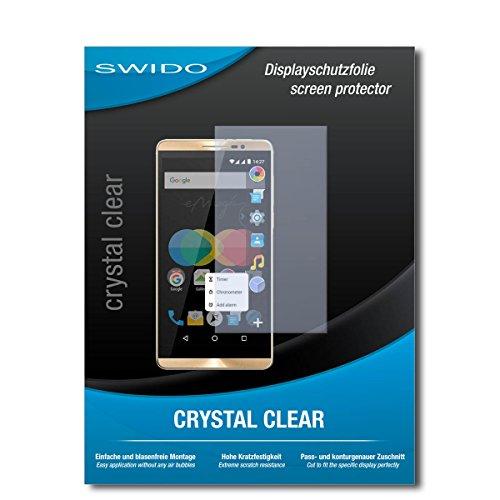 SWIDO Bildschirmschutz für Allview P8 eMagic [4 Stück] Kristall-Klar, Hoher Härtegrad, Schutz vor Öl, Staub & Kratzer/Schutzfolie, Bildschirmschutzfolie, Panzerglas Folie