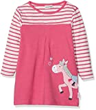 SALT AND PEPPER Baby-Mädchen Kleid B Dress Mon Amie Stripe, (Paradise Pink Melange 842), 68