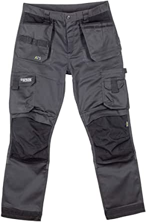 Apache ATS 3D Stretch Fit Tapered Leg Holster Pocket Work Wear Trousers