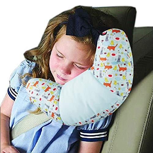 HECKBO Licorne Coussin de ceinture pour enfant sans substances nocives Lavable en machine Tr/ès doux Coussin de ceinture de s/écurit/é pour la ceinture 30 cm x 12 cm