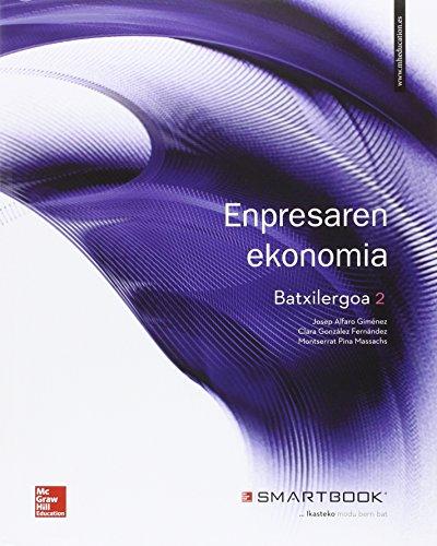 Portada del libro Empresaren Ekonomia - 2º Batxilergoa - 9788448609375