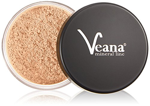 Veana Mineral Line Foundation - Sunny Beige, 1 Pack (1 x 9 G)