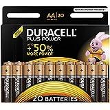 Duracell Plus Power Alkaline AA Batterien, 20er Pack (Abbildung kann abweichen)