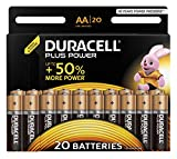 Duracell Plus Power Typ AA Alkaline Batterien,...