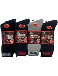 6 Pairs Mens extra warm thermal sock size 6-11