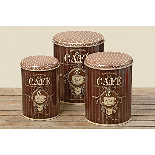 Vorratsdose Kaffeedose nostalgisch braun 24cm