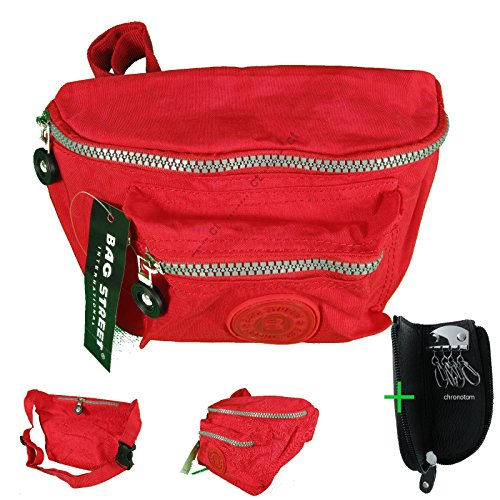 Wandertasche BAG STREET Klassisch Nylon #4120 Jogging Gürteltasche Hüfttasche