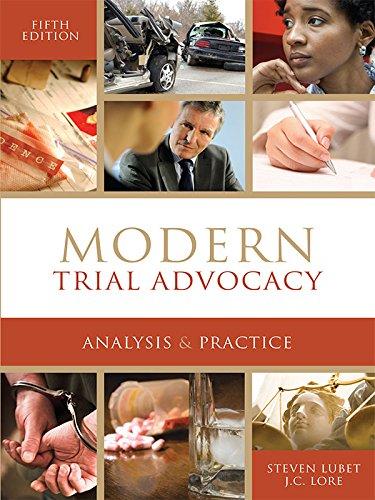 NITA Modern Trial Advocacy - Trial Nita Advocacy