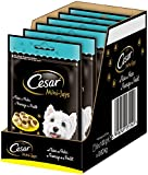 Cesar Hundesnack Hundeleckerli Mini-Joys mit Käse und Huhn, 6 er Pack (6 x 100 g)