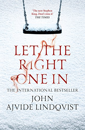 Image result for let the right one in book cover