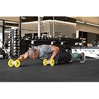 Sklz Core Wheels. Dynamic Core Strength Trainer., Multi Color