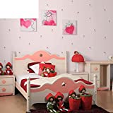 Warm und süß blümchen schlafzimmer normalpapier tapeten Kinder zimmer tapeten Wallpaper für das wohnzimmer und backgroud-D
