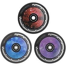 Ruedas de aleación Galaxy de Team Dogz, para patinete scooter de acrobacias, con núcleo