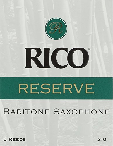Reserve Blätter für Baritonsaxophon Stärke 3.0 (5 Stück)