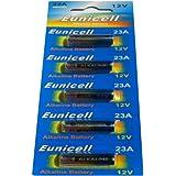 5 X A23 Alkalisch Batterien MN21, 23A, V23GA, L1028