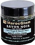 SAVON NOIR 100% naturel huile d'ARGAN et amandes amères - SPA visage et corps pour gommage et nettoyage SAVON NOIR HAMMAM TRADITIONNEL ingrédients 100% NATURELS, by MAROC GLAM