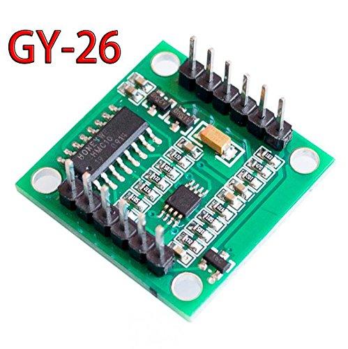 1 pc GY-26 Modulo sensore bussola elettronica digitale ad alta precisione DC3V- 5V per navigazione GPS