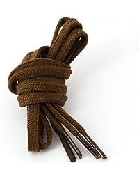 Les lacets Français - Lacets Plats Coton Couleur Chocolat