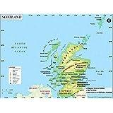 Cartina Stradale Della Scozia.Scotland Road Mappa Mappa Della Scozia Amazon It Cancelleria E Prodotti Per Ufficio