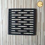Griglia cenere in ghisa 24 x 24 - Edilkamin