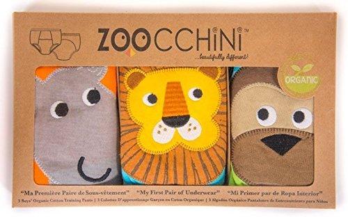 Zoocchini - Conjunto de pantalón de entrenamiento 3 piezas - Safari Friends Boys - De 2 a 3 años Zoocchini