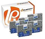 Bubprint 5 Schriftbänder kompatibel für Brother TZE-531 TZE 531 für P-Touch 1280 2430PC 2730VP 3600 9500PC 9700PC D400VP D600VP H100LB H105 P700 P750W