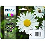 Epson T1806 - Cartucho de tinta original para Epson XP-30 (4 unidades), multicolor